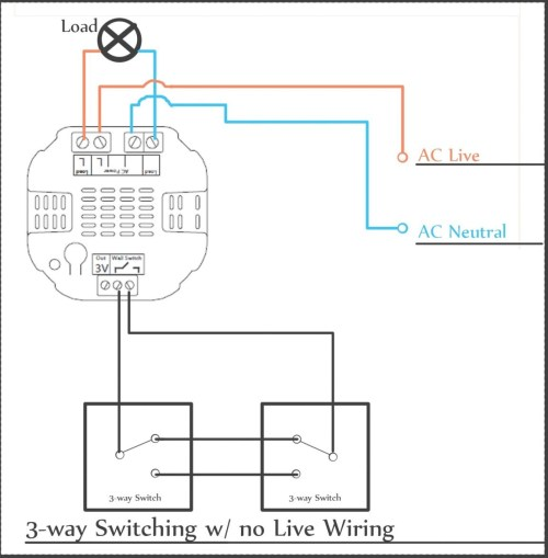 small resolution of 3 way switch wiring a switched receptacle and light