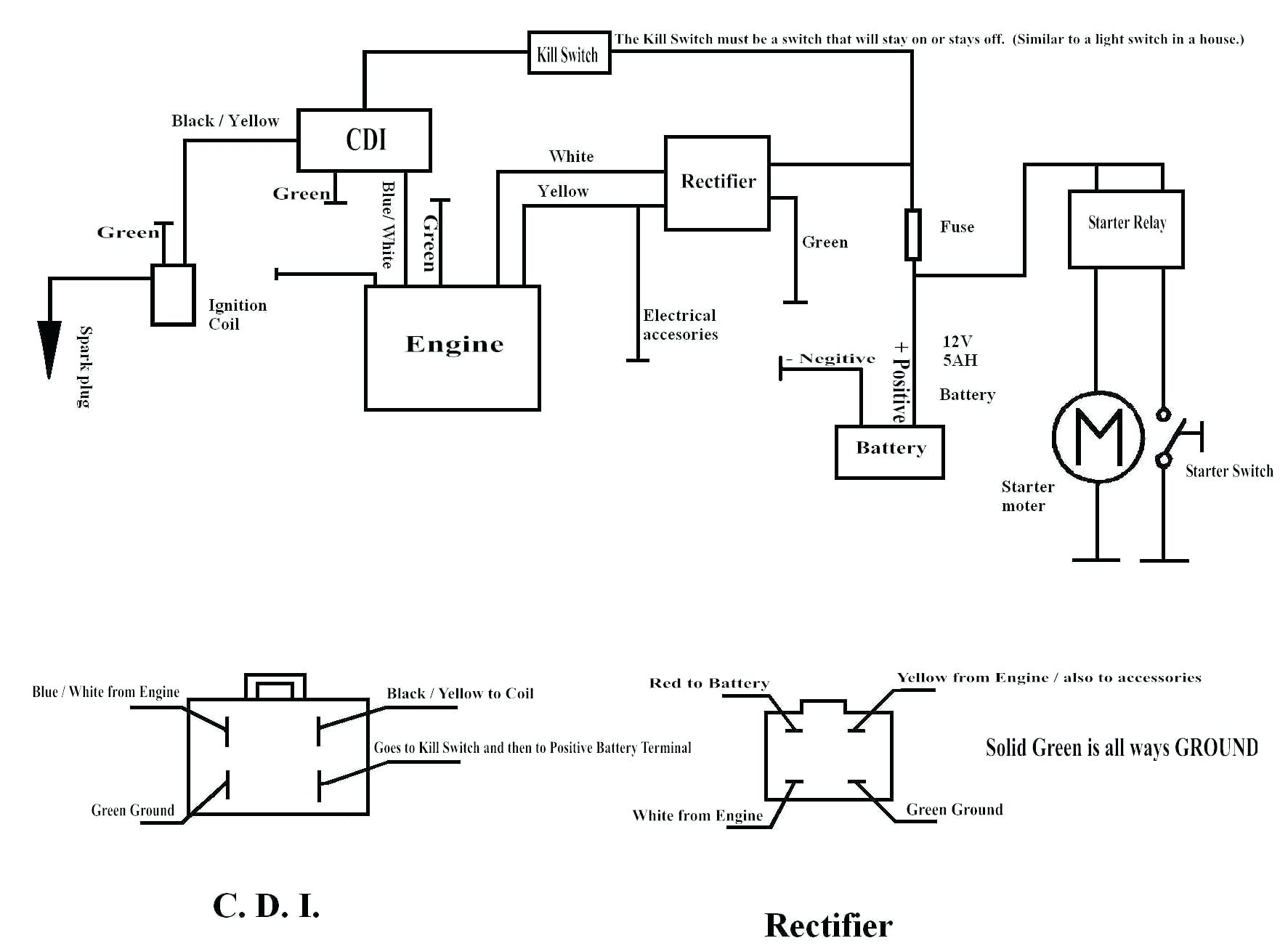 hight resolution of coolster 125 wiring diagram