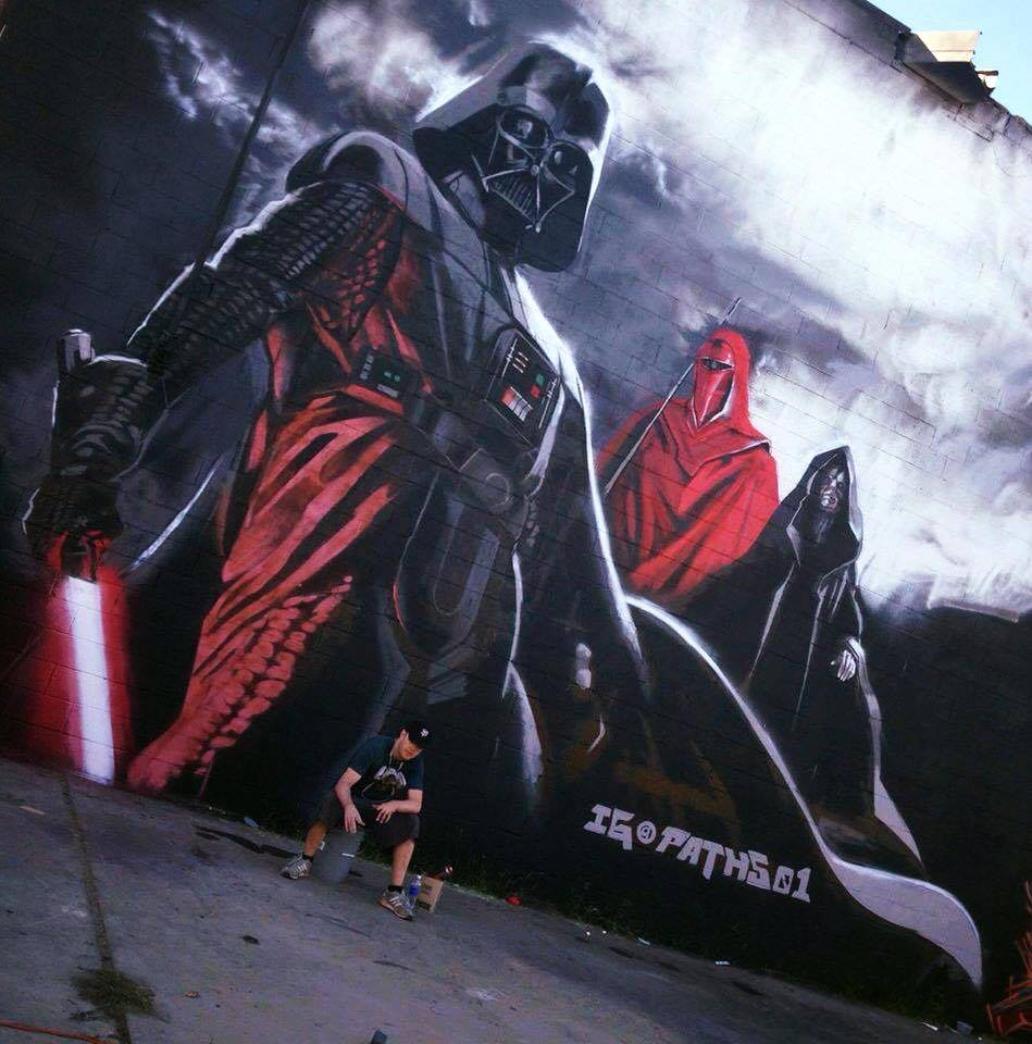 Star Wars Graffiti & Street Art World