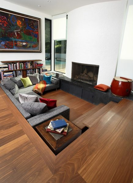 11 Unique Cool Sunken Living Room Ideas For Your Dreamed