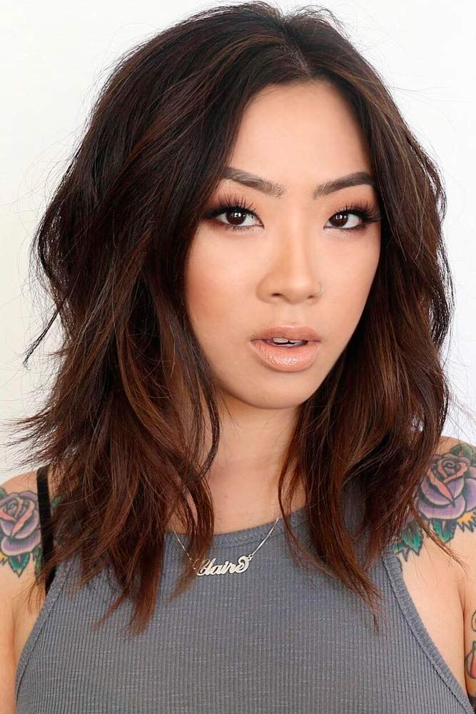25 Most Superlative Medium Length Layered Hairstyles  Haircuts  Hairstyles 2018