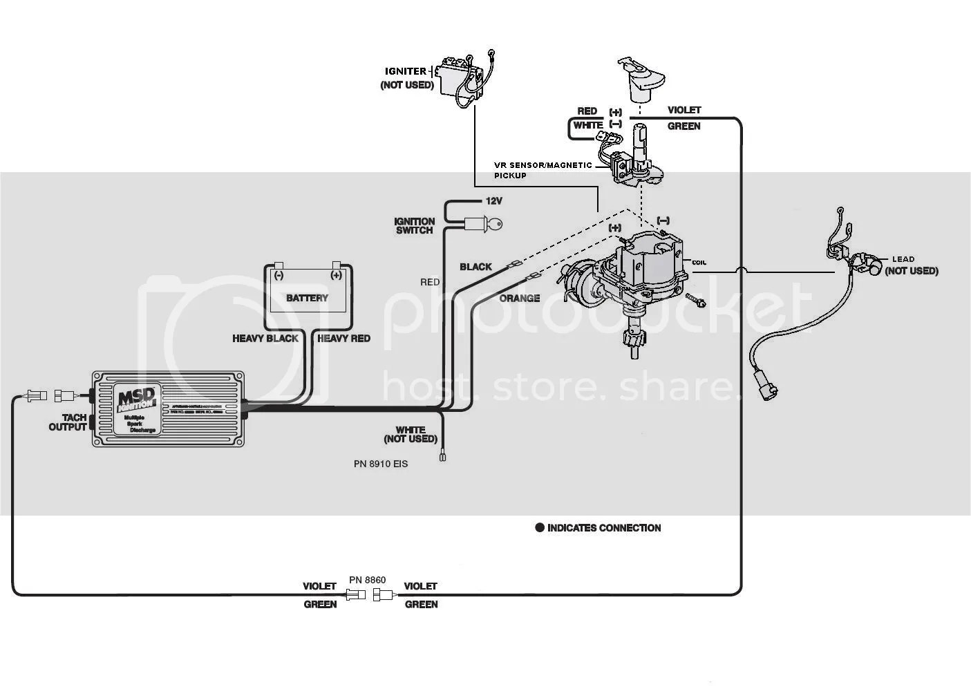 hight resolution of ignition coil wiring diagram msd 6al