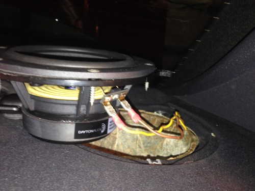 small resolution of bmw e46 sedan speaker replacement rear deck 4