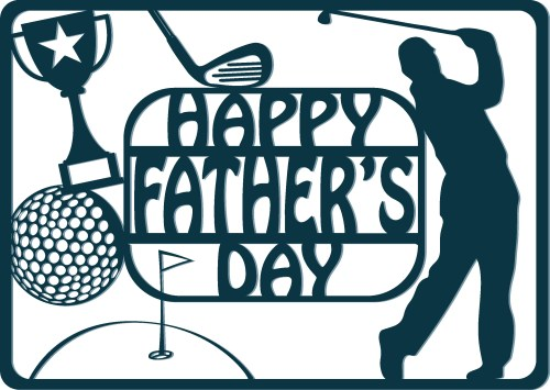 small resolution of this year s golf themed father s day free svg overlay file