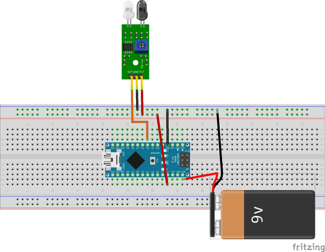 how to connect ir obstacle avoidance sensor to arduino to arduino [ 1080 x 838 Pixel ]