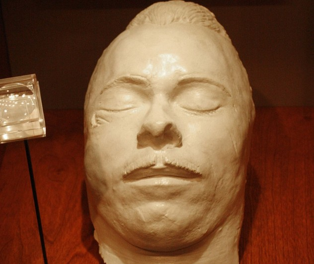 10 Controversial Death Masks Of Famous People  Listverse