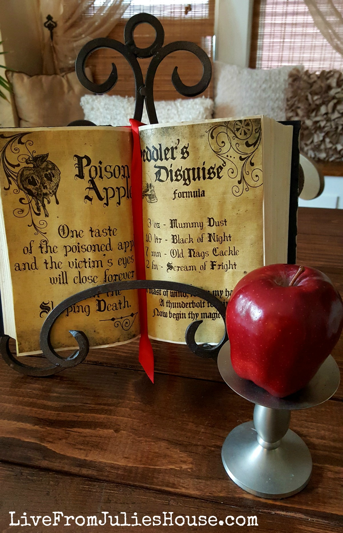 Halloween Decor On The Cheap Spooky Spell Books Live