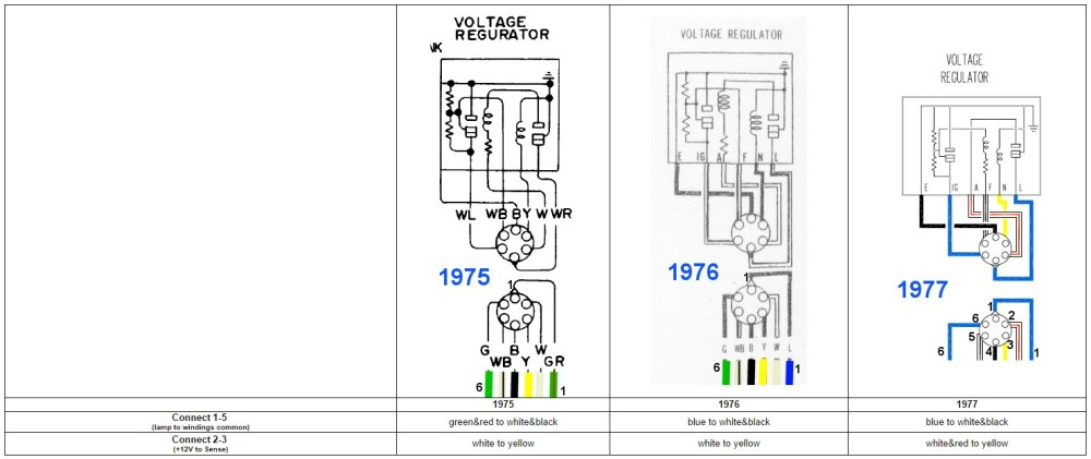 medium resolution of datsun external voltage regulator wiring 3 phase switches combination on 1988 ford e150