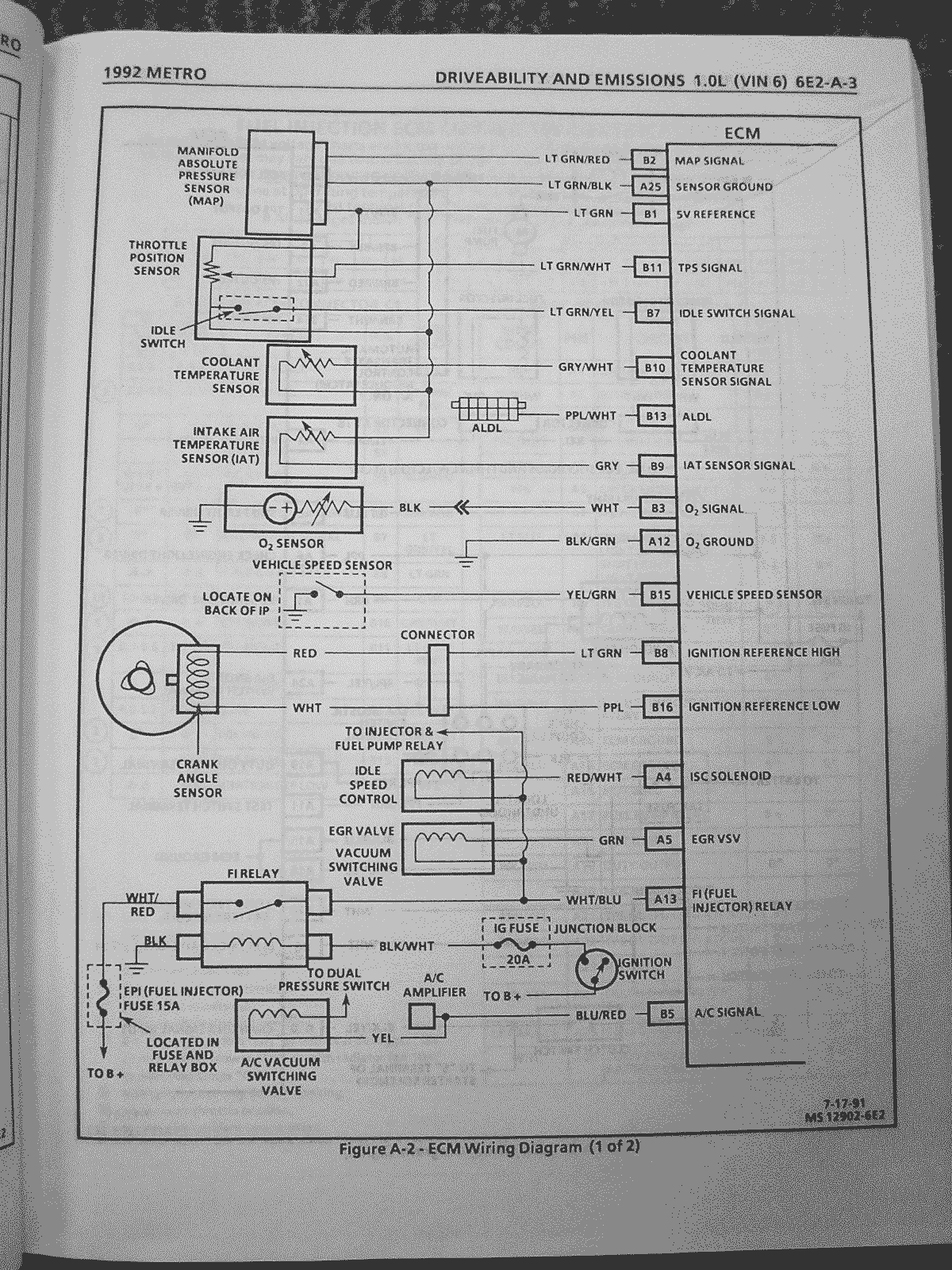 hight resolution of 97 geo metro fuse box wiring diagram inside 1997 geo metro fuse diagram wiring diagram paper