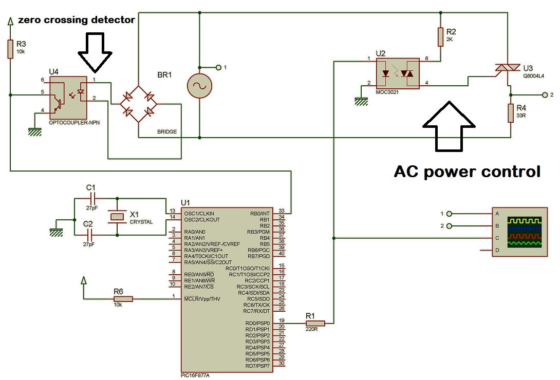 small resolution of circuit diagram of ac power control with thyristor