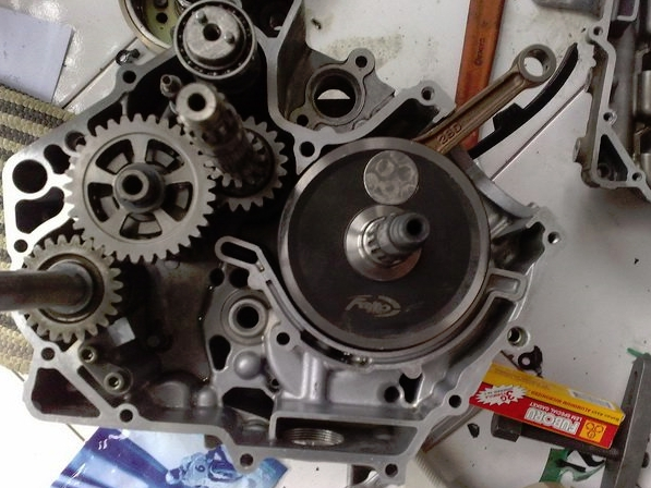 200cc Yamaha 135LC Auto Clutch Project with 62mm Bore x 65