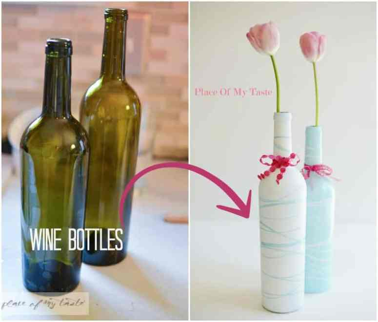 gift idea upcycled wine