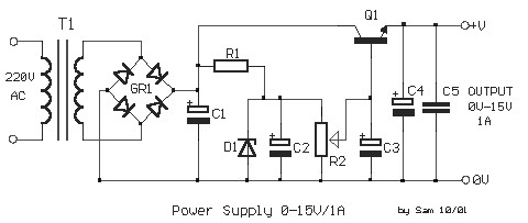 circuit diagram 15v dc power supply [ 1280 x 720 Pixel ]