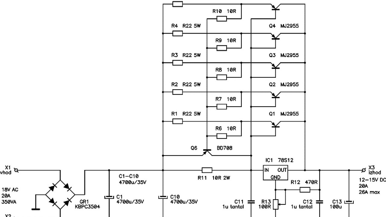 small resolution of 12v 20a regulated dc power supply