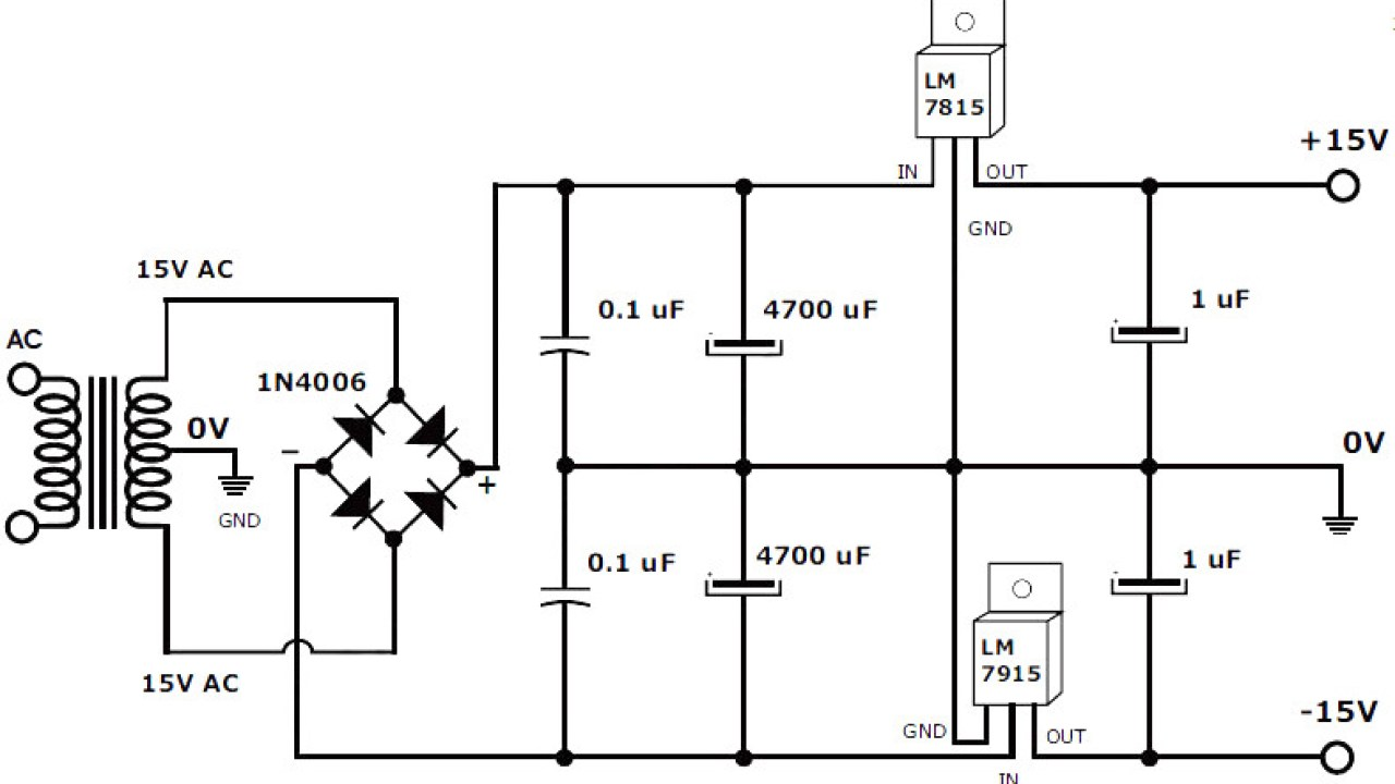 small resolution of circuit diagram 15v dc power supply