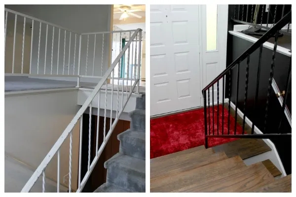 How To Paint Metal Handrails   Metal Handrails Near Me   Stair Parts   Deck Railing   Stair Treads   Concrete Steps   Staircase