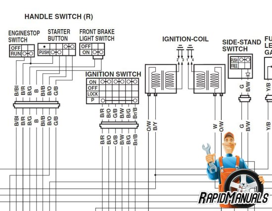 harley handlebar switch wiring diagram