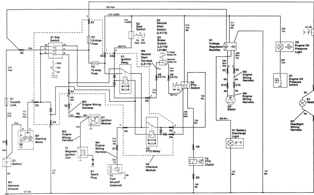 medium resolution of john deere 4430 wiring schematic wiring diagram databasef510 john deere wiring diagram 7