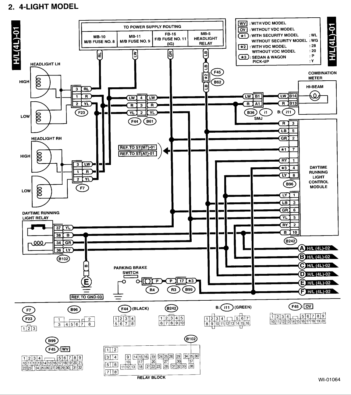 hight resolution of subaru outback wiring diagram