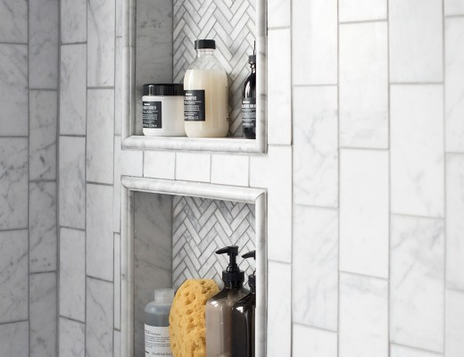 how to plan and design a shower niche