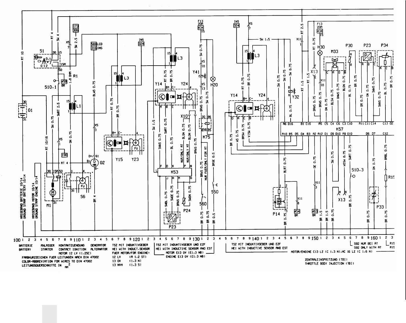 hight resolution of opel astra wiring diagram