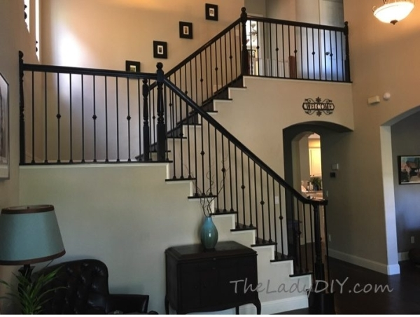 How To Install Wrought Iron Spindles The Lady Diy | Wrought Iron Banister Spindles | Metal | Wooden | Double Basket | Cast Iron | Type
