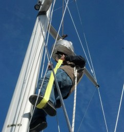 unstepping the mast with a crane when rigging up the lifting gear via a crane gin pole gantry gaff or fork lift it is important to step away form the  [ 1840 x 3264 Pixel ]