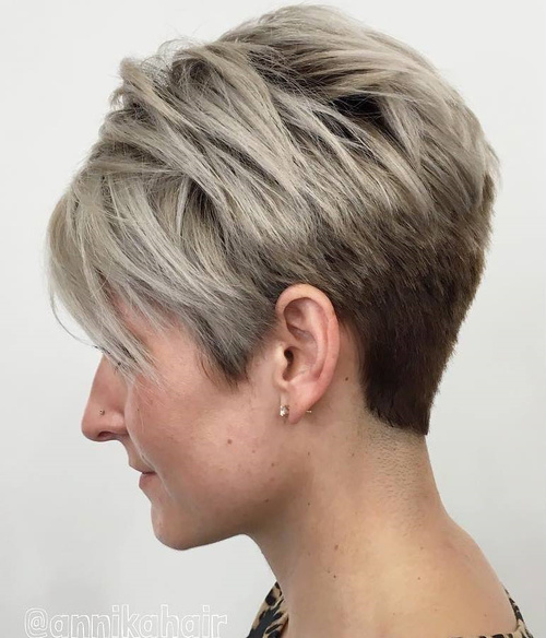 70 Pixie Cut Ideas For 2017 – Short Shaggy Spiky Edgy Pixie Haircuts