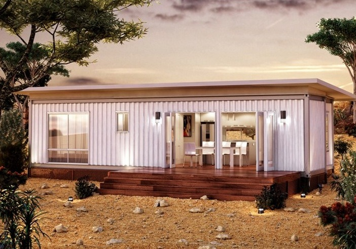 645 Sq Ft Modern Shipping Container Modular Home