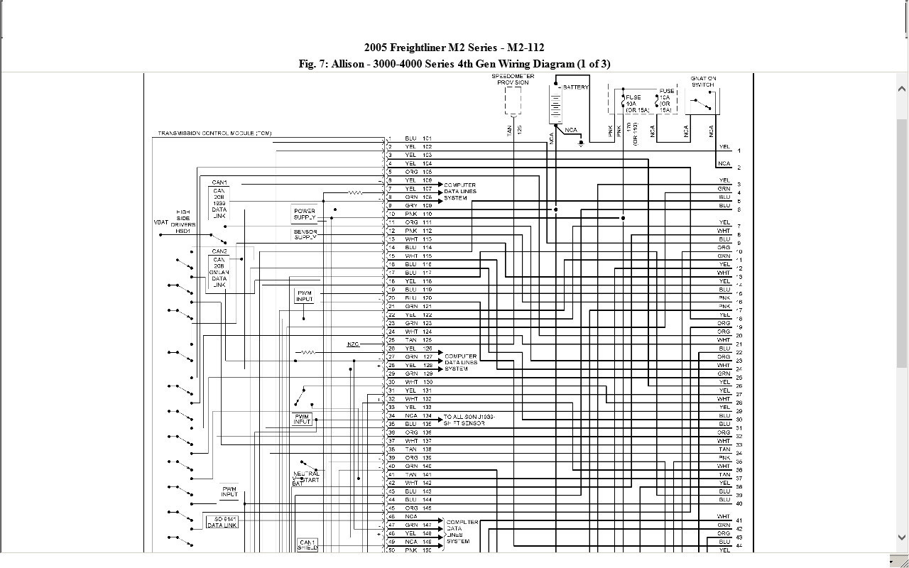 hight resolution of freightliner m2 wiring diagram download