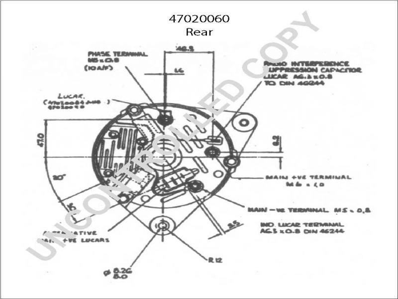 denso alternator wiring diagrams for