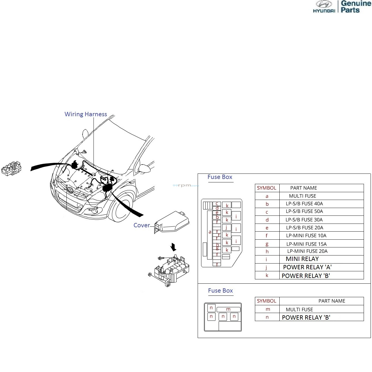 hight resolution of hyundai i20 1 4 crdi front wiring harness