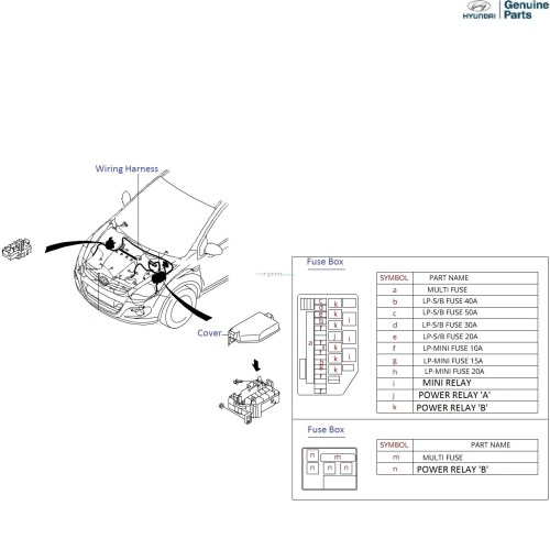 small resolution of hyundai i20 1 4 crdi front wiring harness