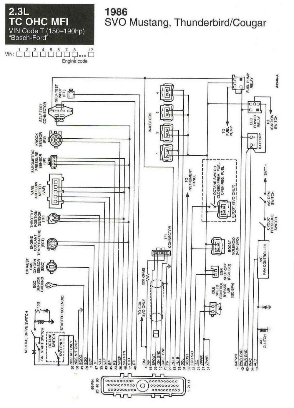 medium resolution of mustang alternator wiring diagram