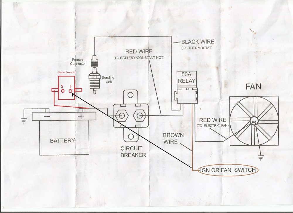 medium resolution of painless wiring diagram i installed my electric fan relay kit but