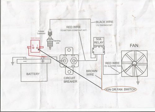 small resolution of painless wiring diagram i installed my electric fan relay kit but