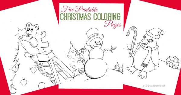 christmas coloring pages printable free # 60