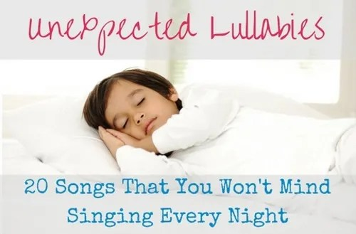 unexpected lullabies 20 songs