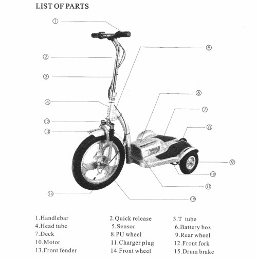 small resolution of razor electric scooter wiring diagram diagrams wiring