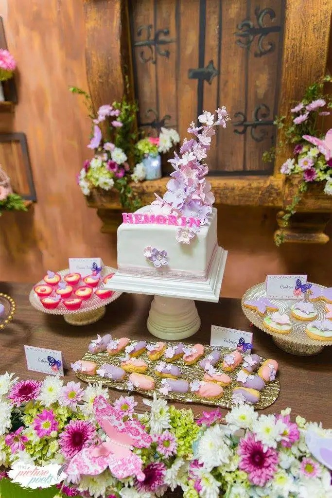 breakfast table and chairs set steel chair singapore enchanted garden birthday party - ideas & themes