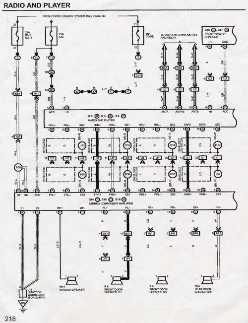 small resolution of 1st gen gs300 radio wiring diagram question