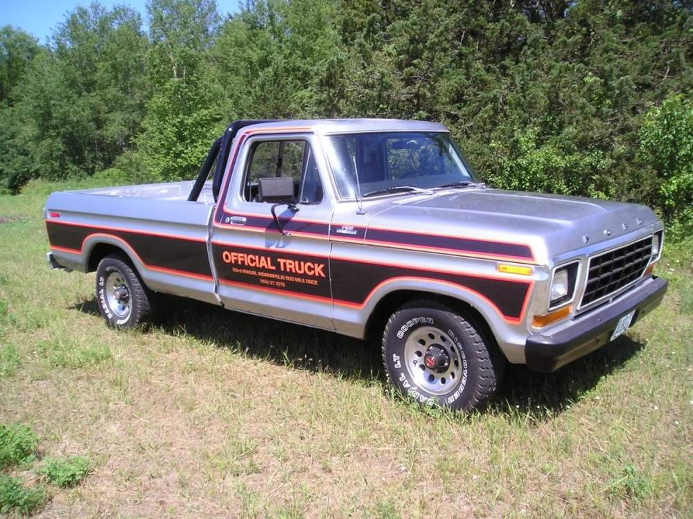 medium resolution of automotive history 1979 ford indianapolis speedway official truck package
