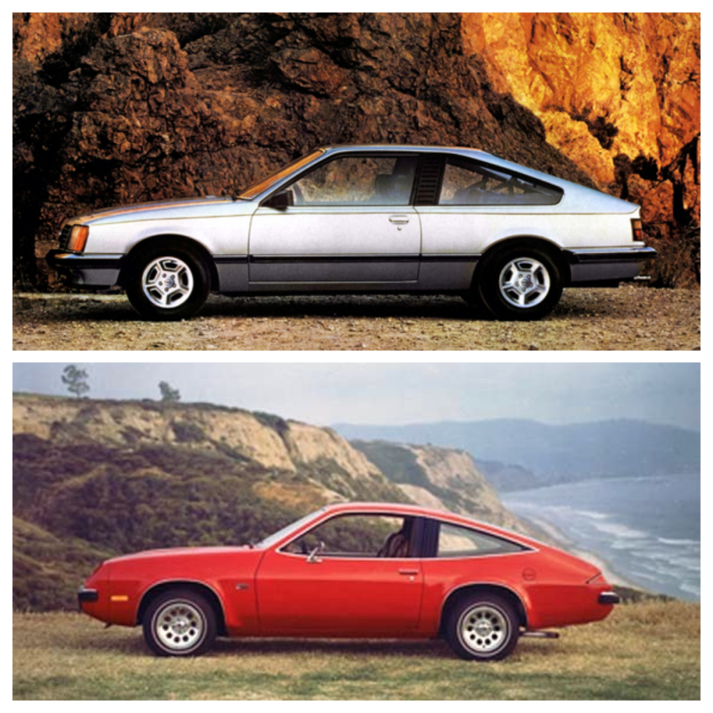 medium resolution of the chevrolet monza in hatchback coupe form measured 179 3 inches long and 65 4 inches wide the opel was bigger but being european