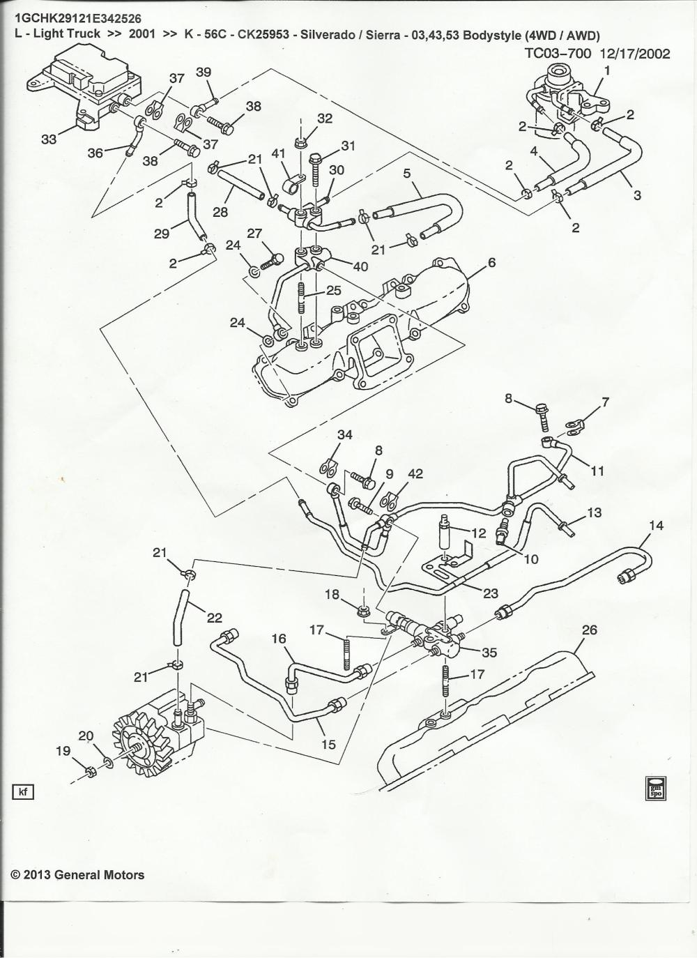 medium resolution of 03 duramax fuel filter housing diagram schema diagram database diagram of how a lmm engine fuel filter