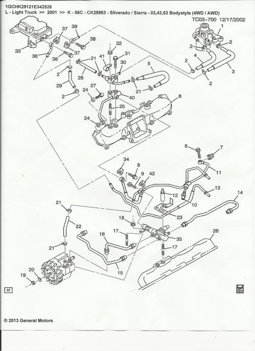 small resolution of 03 duramax fuel filter housing diagram schema diagram database diagram of how a lmm engine fuel filter