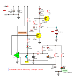 siwire pp3 nimh battery charger circuit diagram [ 1151 x 1157 Pixel ]