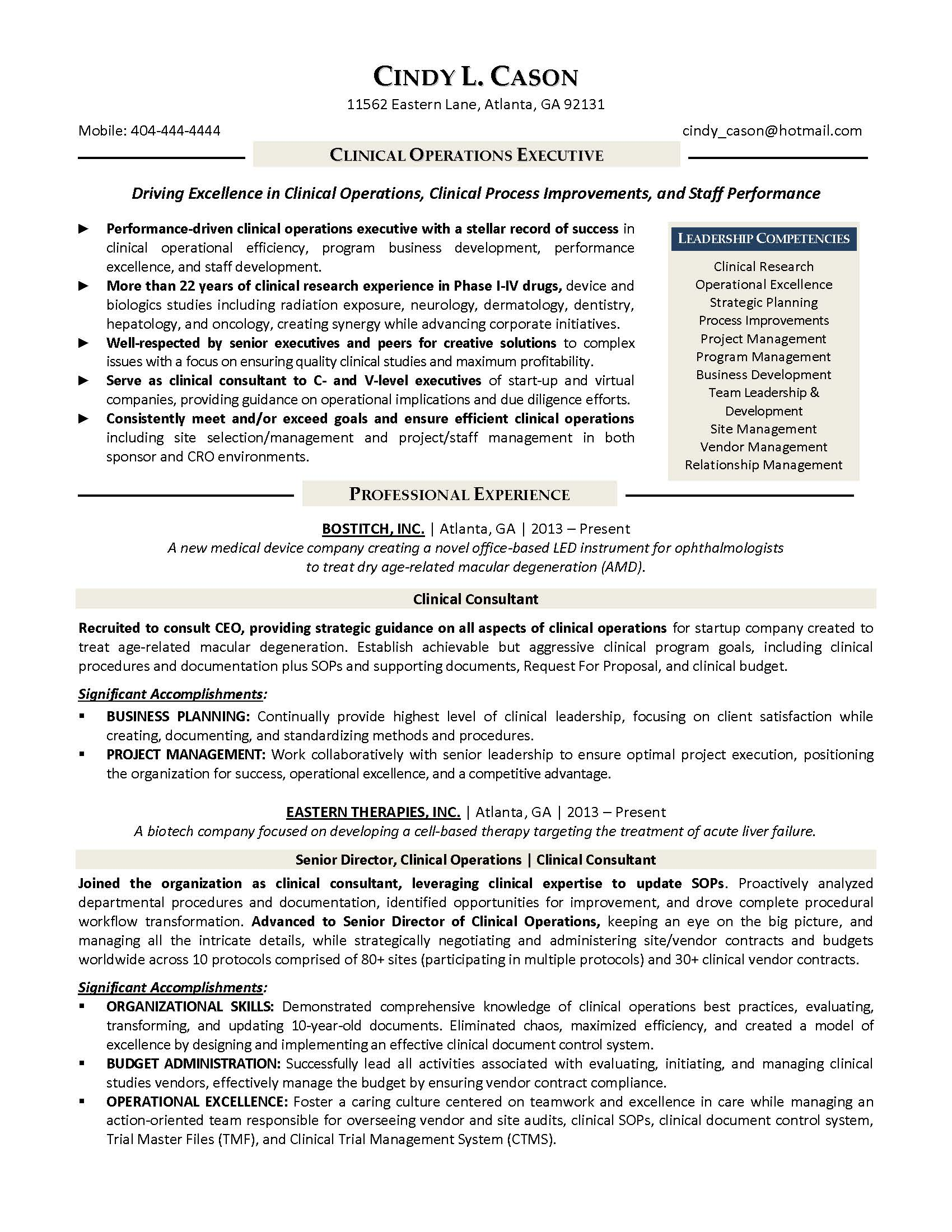 Resume Samples Program & Finance Manager FP&A Devops Sample