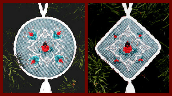 Free Christmas Cross Stitch Ornament Patterns
