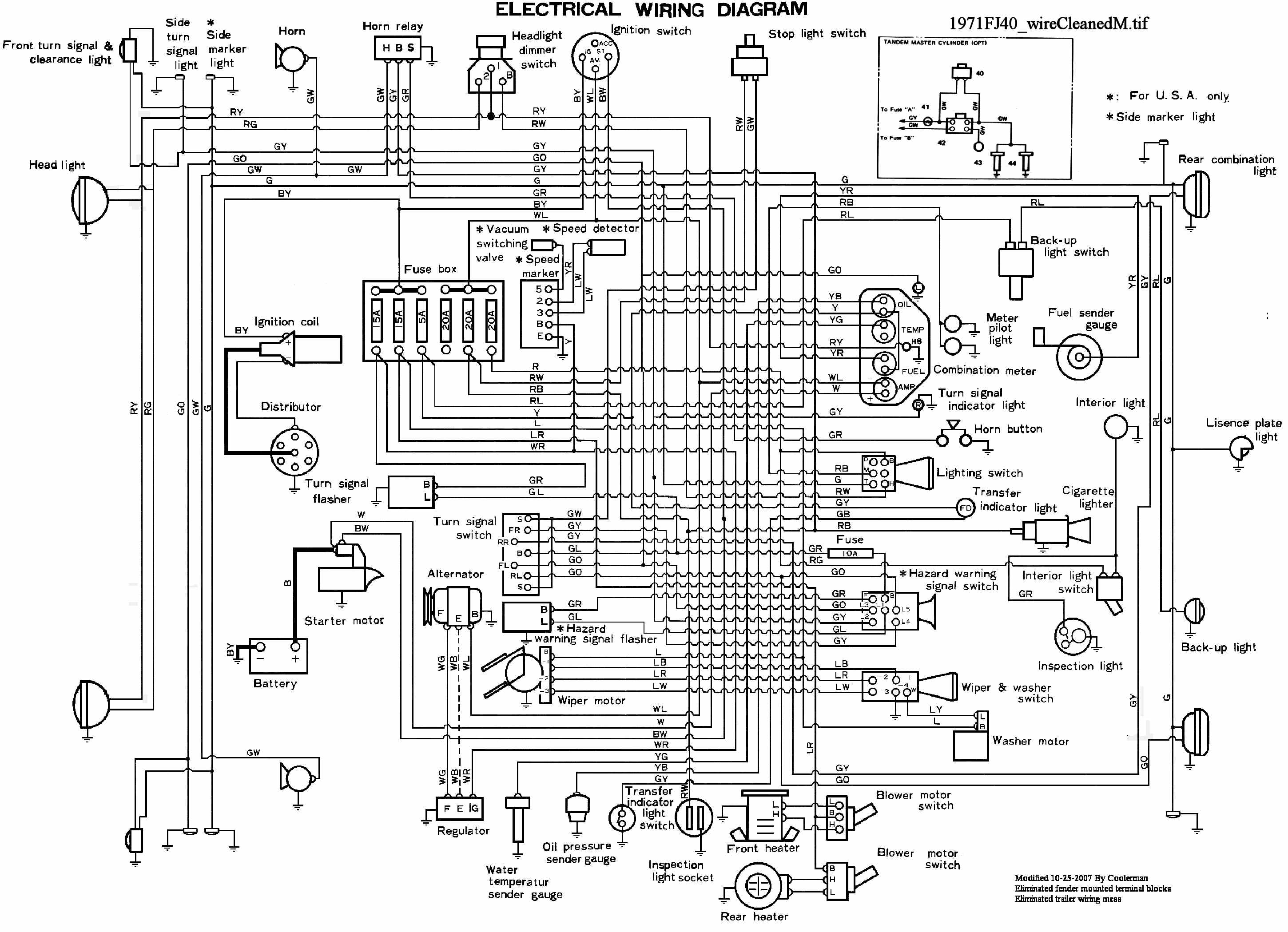 medium resolution of fj40 wiring diagram painless wiring diagrams 71fj40 wirecleanedm resize 665 2c481 centech wiring harness