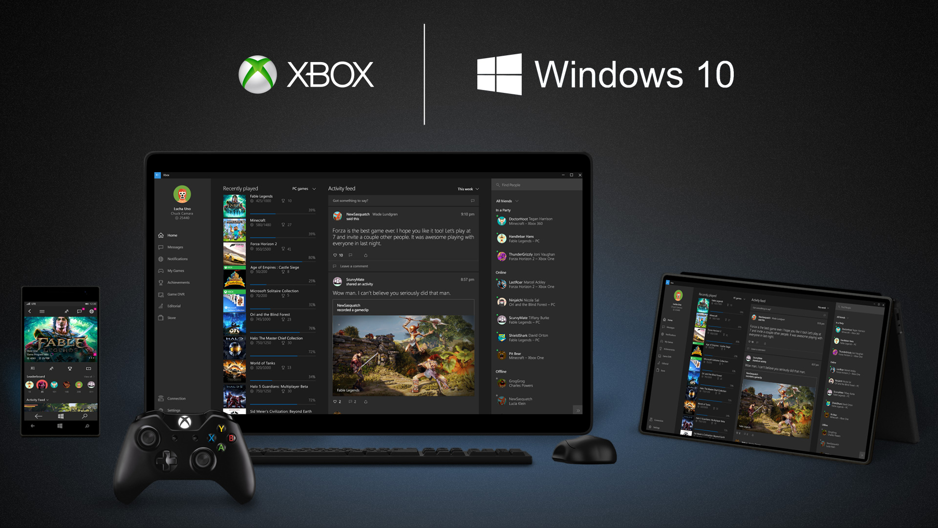 Play Xbox One Games On Windows 10 From Anywhere